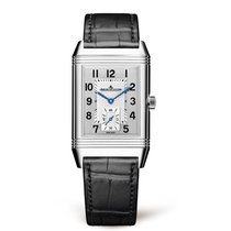 Jaeger-LeCoultre Reverso Classic Small Acero 45.6mm Plata Árabes
