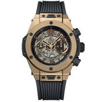 Hublot 411.MX.1138.RX Rose gold 2019 Big Bang Unico 45mm pre-owned