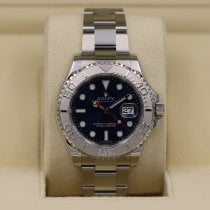 Rolex Yacht-Master 40 Steel 40mm Blue No numerals