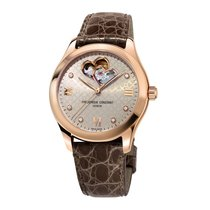 Frederique Constant Ladies Automatic Double Heart Beat Otel 36mm Gri Roman