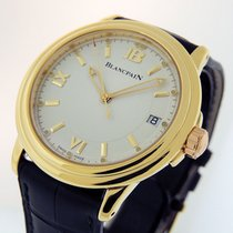 Blancpain Léman Ultra Slim Yellow gold 38mm White United States of America, California, Los Angeles