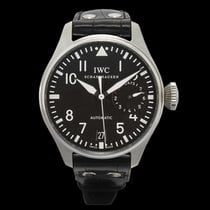 IWC Big Pilot Steel 46.20mm Black United States of America, California, Burlingame