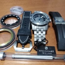 Steinhart pre-owned Automatic 45mm Black Sapphire crystal 30 ATM