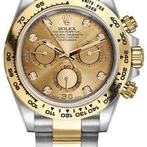 Rolex Daytona Acero y oro 40mm Champán