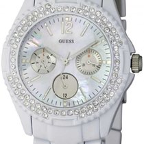 Guess Rock Candy Day-Date Damenuhr Quarz I16015L1