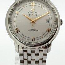 Omega De Ville Prestige Сталь 37mm Белый