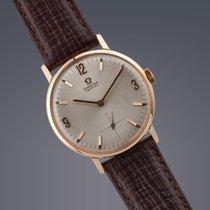 Omega Century 18ct rose gold manual watch