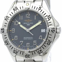 Breitling Colt Stainless Steel Automatic Mens Watch A17035...