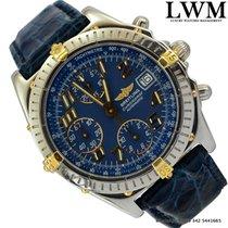 Breitling Chronomat B13350 Blackbird blue dial Full Set 2001's
