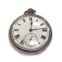 Rotherhams Manual Winding Pocket Watch Sterling Silver