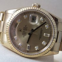 Rolex Day-Date  118238 18K Yellow Gold Diamond