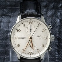 IWC Portuguese Chronograph Top Best Condition -  371445