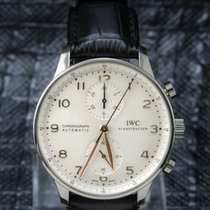 IWC Portuguese Chronograph - IW 371445 - ONE YEAR WARRANTY