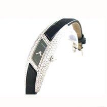 Cartier new Quartz 16mm White gold Sapphire Glass