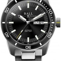 Ball Engineer Master II Skindiver Zeljezo 41mm Crn