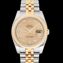 Rolex 116233 G Yellow gold Datejust pre-owned United States of America, California, San Mateo