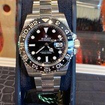 Rolex GMT-Master II Acier 40mm Noir Sans chiffres France, paris