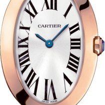 Cartier Baignoire W8000005 New Rose gold Quartz