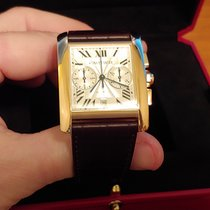 Cartier Tank MC Rose gold 34.3mm Silver Roman numerals