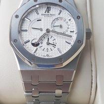 Audemars Piguet Royal Oak Dual Time Steel White No numerals Singapore, Singapore