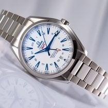 Omega Titanium Automatic White No numerals 43mm new Seamaster Aqua Terra