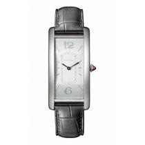 Cartier Platinum Manual winding Silver Arabic numerals 46.3mm new Tank (submodel)