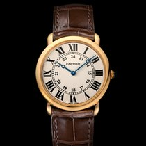 Cartier Ronde Louis Cartier Yellow gold 36mm Silver United Kingdom, Essex