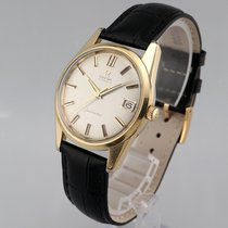 Omega Seamaster Gold/Steel 34mm Silver No numerals