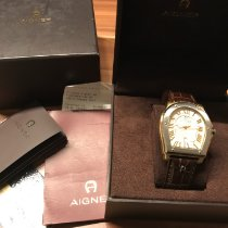 Aigner Steel Quartz A105106 pre-owned