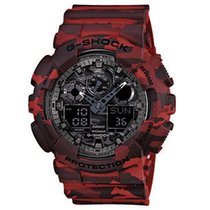 Casio G-Shock Vjestacki materijal 55mm Crven Bez brojeva