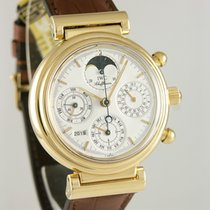 IWC Da Vinci Perpetual Calendar Yellow gold 39mm White