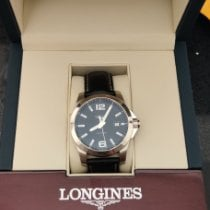 Longines Conquest Steel 43mm Black Arabic numerals United States of America, New York, New York