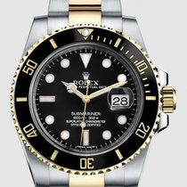Rolex Submariner Date Gold/Steel 40mm Black No numerals United States of America, New Jersey, Totowa