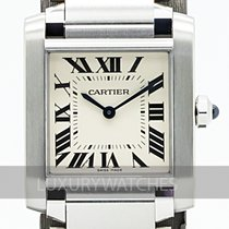 Cartier Tank Française new 2020 Quartz Watch with original box and original papers WSTA0005