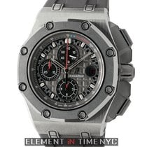 Audemars Piguet Royal Oak Offshore Chronograph Τιτάνιο 44mm Μαύρο