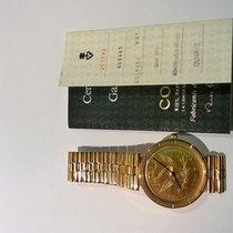 Corum Coin Watch Gelbgold