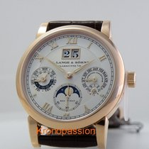 A. Lange & Söhne Langematik Perpetual Rose gold 38.5mm Silver Roman numerals United States of America, Florida, Boca Raton