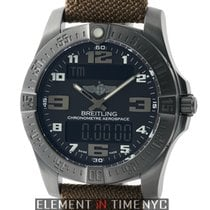Breitling Aerospace Evo Night Mission GMT Black Titanium 43mm...