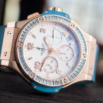 Hublot Big Bang King Tutti Frutti Blue Topaz Rose Gold