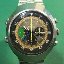 Omega Flightmaster Ref.145.013 Tropical Dial with SS Bracelet