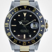 Rolex GMT Master, 16753, SS and Gold, Nipple Dial, Oyster...