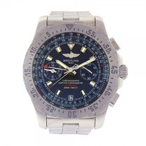 Breitling Skyracer Stainless Steel Automatic Chronograph Men's...