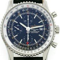 Breitling Navitimer GMT World Ref. A 24322  Box + PapiereØ46mm
