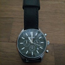 Fossil Leather Strap Watch BQ2075