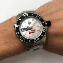 TAG Heuer Aquaracer 500M Steel 43mm Mother of pearl No numerals United States of America, New York, New York