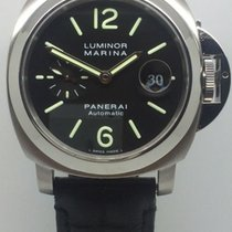 Panerai Luminor Marina Automatic Steel 44mm Black Arabic numerals United Kingdom, Leicester
