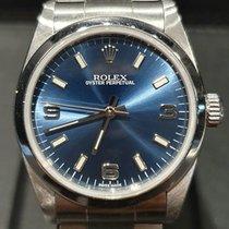 Rolex Oyster Perpetual 31 Acél 31mm Kék Arab