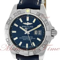 Breitling Galactic 41 Steel 41mm Blue No numerals