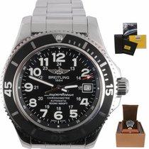 Breitling Superocean II 42 Steel 42mm Black Arabic numerals United States of America, New York, Smithtown