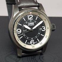 Oris Big Crown Timer Steel 44mm Black Arabic numerals